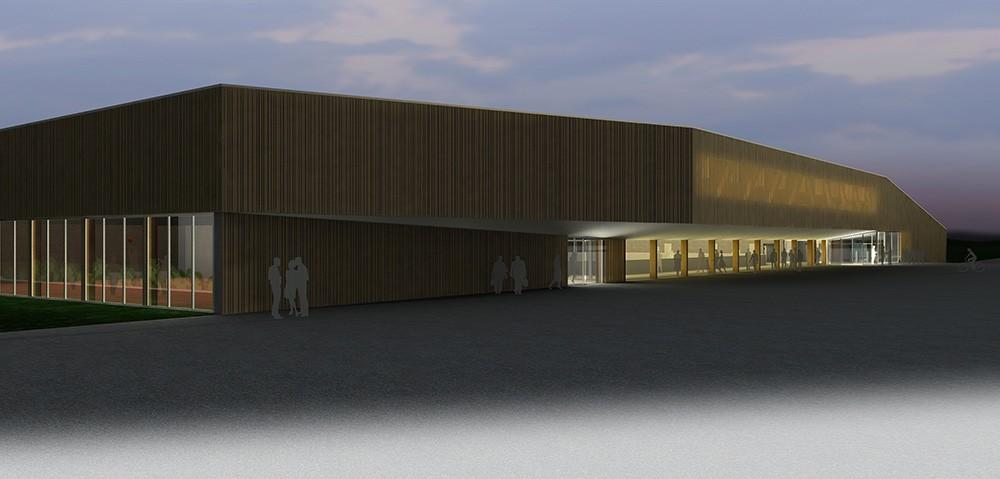 Concours d'architecture pour la construction d'une salle de gym.
