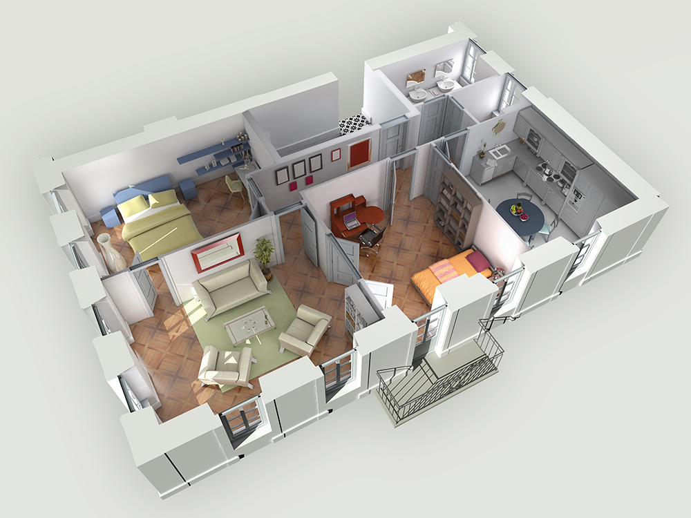 Projet de rénovation et promotion immobilière d'un appartement