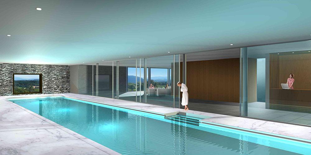 Projet de rénovation et aménagement d'une piscine